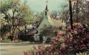 Walterboro South Carolina~St Jude's Episcopal Church~Bartholomew's Parish~1950s