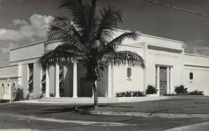 Fort Ft Lauderdale Florida~Art Deco First Church of Christ Scientist~RPPC c1950