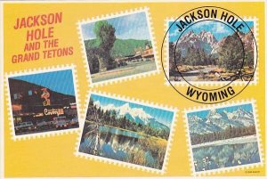 Jackson Hole & The GRand Tetons Postage Stamp Tour