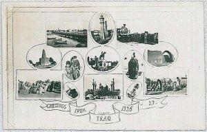 Vintage postcard - IRAQ : 1926 - GREETINGS - NICE!!