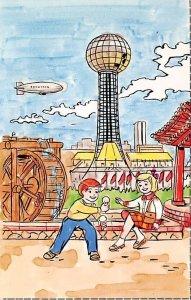 1982 world's fair Knoxville, Tennessee, USA Ice Cream Unused