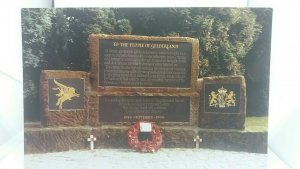 Vintage Postcard Oosterbeek Monument of the 1st British Airborne Division