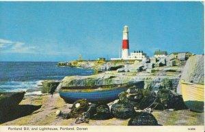 Dorset Postcard - Portland Bill and Lighthouse - Portland - Ref TZ8852