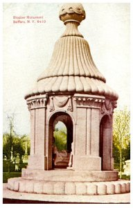 New York  Buffalo ,  Blocher Monument