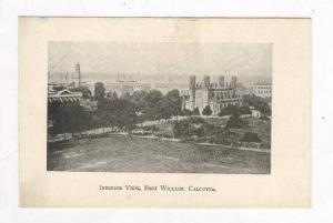 Interior View, Fort William, Calcutta (West Bengal), India, 1900-1910s