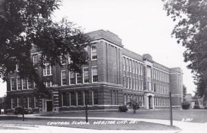 Iowa Webster City Central School Real Photo