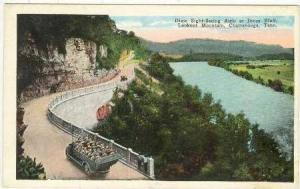 Dixie Site-seeing auto-bus at Jonas Bluff, Lookout Mountain, Chattanooga, Ten...