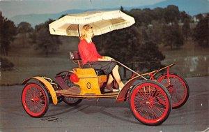 Vinatge Auto Pre 1950 Post Card 1903 Orient Car and Carriage Caravan Luray Ca...