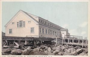 Summit House , Mt Washington , White Mts , New Hampshire , PU-1906