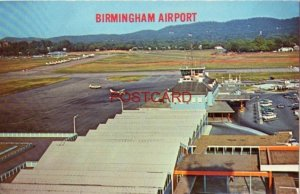 scene from Control Tower overlooking new terminal at BIRMINGHAM, ALABAMA AIRPORT