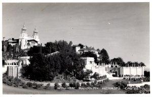 San Simeon, California - RPPC - William Randolph Hearst Castle - c1940