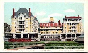 New Jersey Atlantic City Hotel Dennis Detroit Publishing