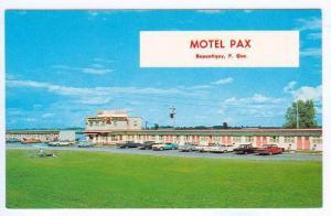 Classic Cars, Motel Pax, Repentigny, Quebec, Canada, 40-60´s