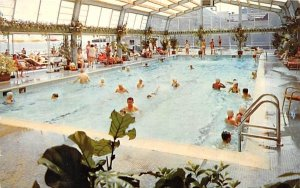 Chalfonte-Haddon Hall's year-round, all weather pool in Atlantic City, New Je...