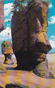Canada New Brunswick Hopewell The Rocks 1961