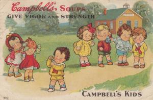 CAMPBELL'S Soup Kids , PU-1909 ; Give Vigor & Strength , Grace Drayton
