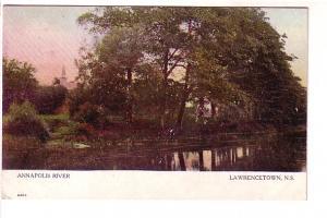 Annapolis River, Lawrencetown, Nova Scotia, Warwick 2493