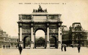 France - Paris. L'Arc de Triumphe due Carroussel