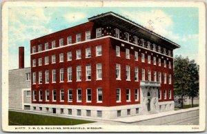Springfield, Missouri Postcard Y.M.C.A. BUILDING Hotel Boarding House / 1938