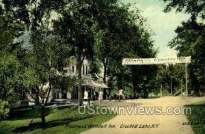 Minahans Wendell inn Crooked Lake NY Unused