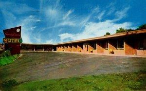 California Oakland The Beverly Terrace Motel 1961
