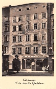 Mozarts Geburtshaus Salzburg Austria Unused