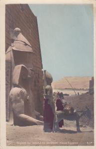 RP: Donkey , Facade du Temple de Louqsor (Haute Egypte) , 00-10s