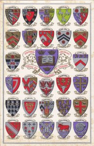 OXFORD, Oxfordshire, England, United Kingdom; University, 27 Arms of the Coll...
