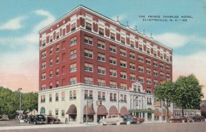 FAYETTEVILLE , North Carolina, 30-40s; The Prince Charles Hotel