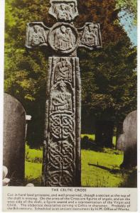 Post Card The Celtic Cross