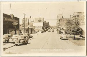 USED POST CARD,  STORY STREET,  1944,  BOONE, IOWA