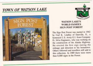 Town of Watson Lake, Yukon,  Canada, 50-70