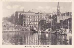Market Slip , ST JOHN , New Brunswick , Canada, 1900-10s