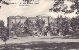 Indiana Muncie Science Hall Ball State Teachers College Albertype