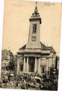 CPA BESANCON - Église St-Pierre et la Marché aux DOUBS (183114)