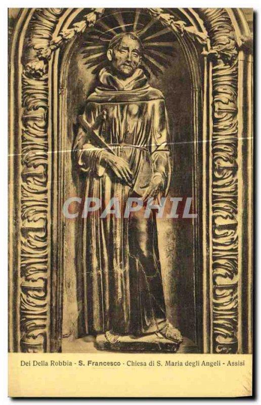 Postcard Old Francesco Assisi Chiesa di Maria Degli Angeli