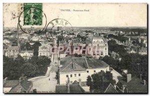 Postcard Old Troyes Panorama North