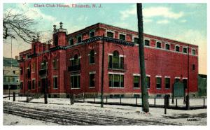 New Jersey  Elizabeth  Clark Club House