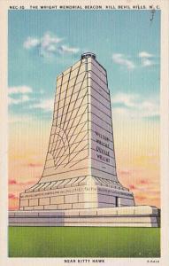 North Carolina Kill Devil Hills The Wright Memorial Beacon