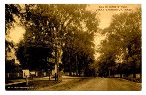 MA - Great Barrington. South Main Street