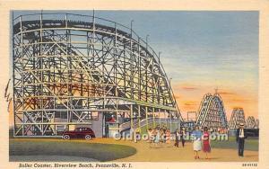 Roller Coaster, Riverview Beach Pennsville, New Jersey, NJ, USA 1945