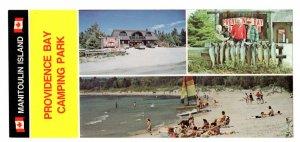 Providence Bay Camping Park, Manitoulin Island Ontario, Fishing Lake Advertising