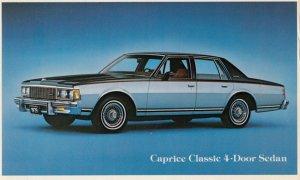 1978 Caprice Classic 4 door Sedan