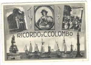 RP, 4- Views, Ricordo Di C. Colombo, The Three Ships: Niña, Pinta, & The San...