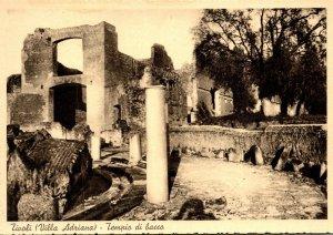Italy Tivoli Villa Adriana Tempio di bacco