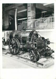 Robert Stephenson THE ROCKET train locomotive postcard