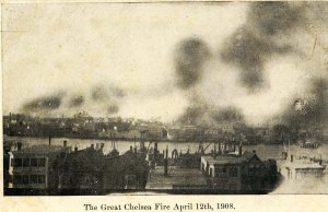 MA - Chelsea. The Great Fire, April 12, 1908. General View