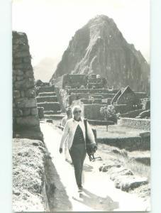old rppc NICE VIEW Machu Picchu - Urubamba - Machupicchu Peru i3089