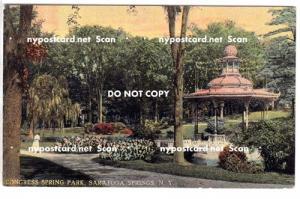 Congress Spring Park, Saratoga Springs NY,