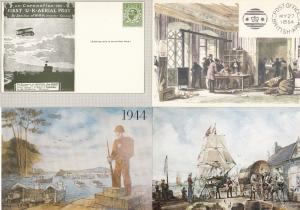 New Weymouth Mural 4x History Royal Mail Postcard s